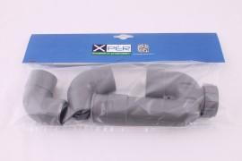 ZOS Syphon PVC 40mm grijs