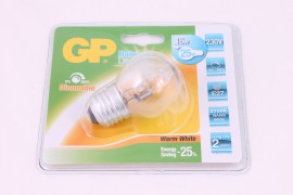 GP Halogeen mini globe 18W