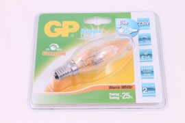 GP Halogeen candle 18W