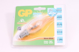 GP Halogeen tip candle 20W